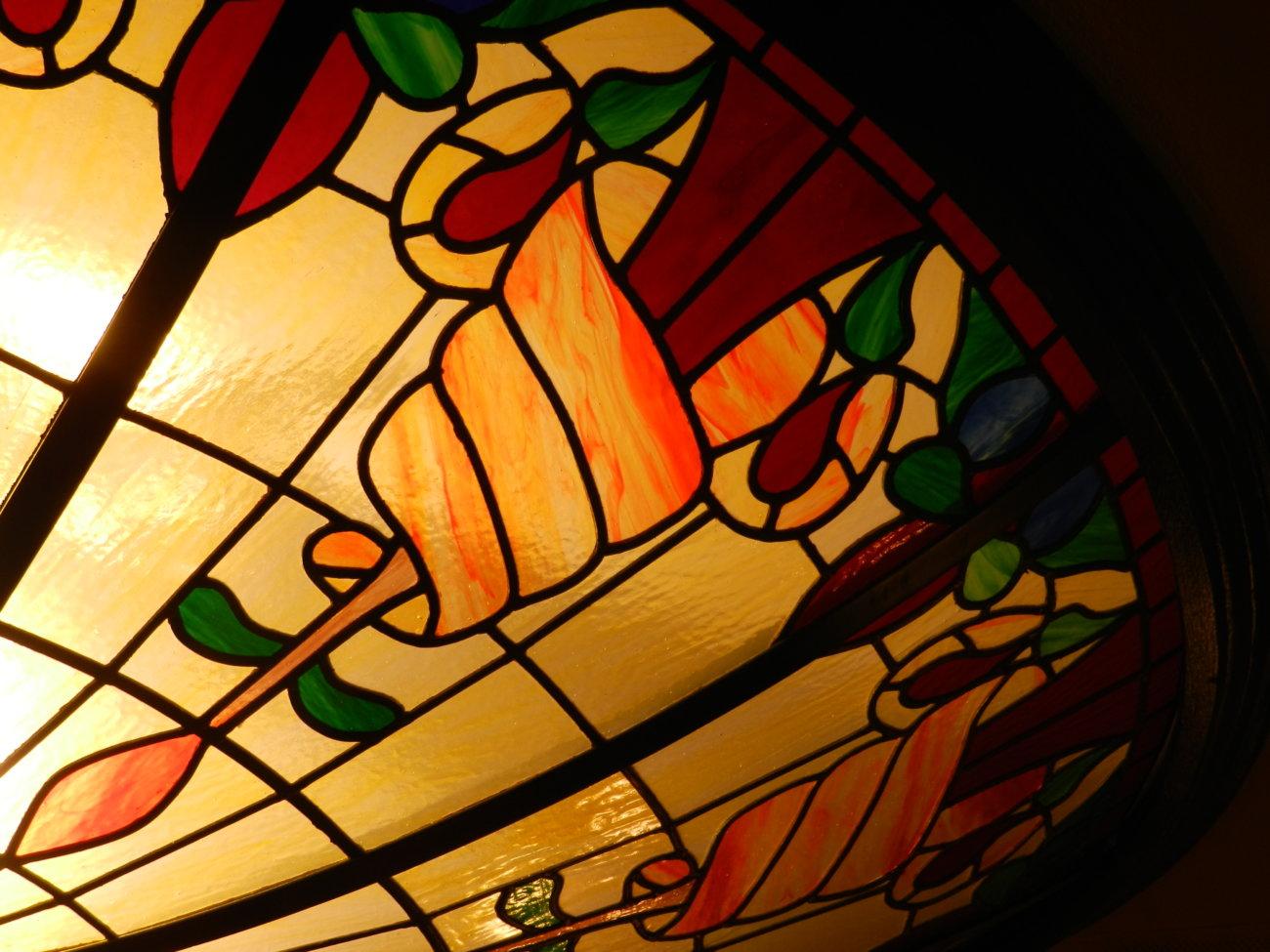 Photo de vitrail La coupole
