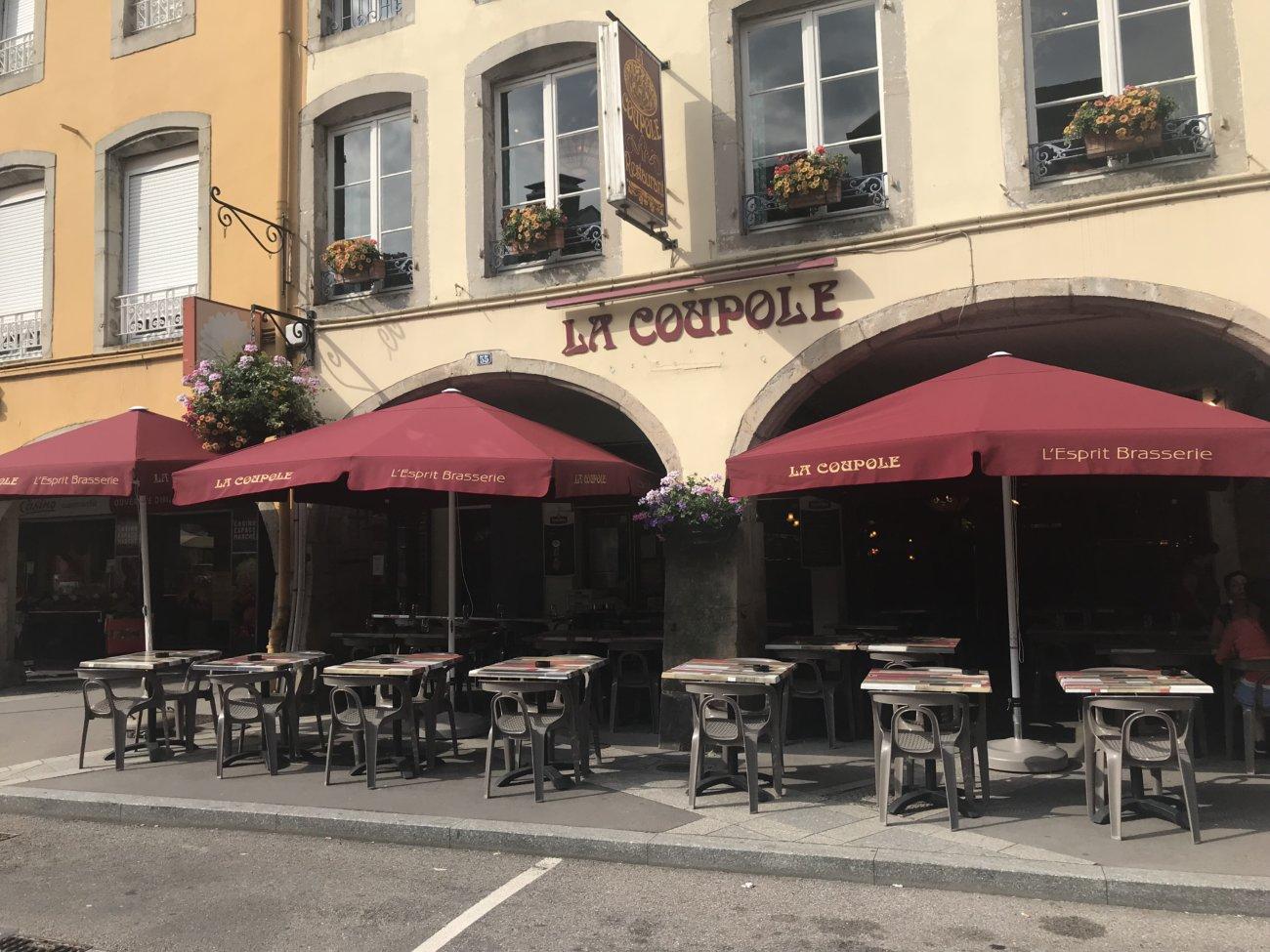 Photo façade La coupole